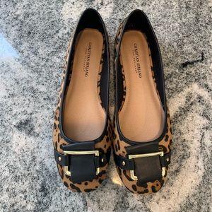 Christian Soriano Leopard Flats